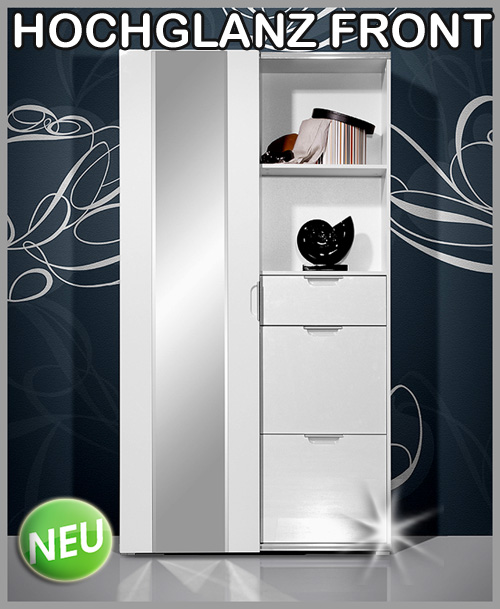 neu schiebet r garderobe schuhschrank spiegel kommode. Black Bedroom Furniture Sets. Home Design Ideas