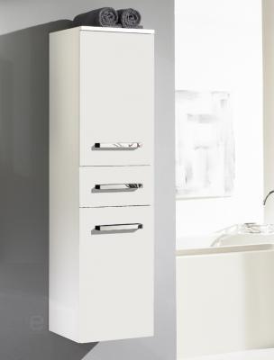 neu badezimmer hochschrank h ngeschrank badschrank badm bel mdf hochglanz wei ebay. Black Bedroom Furniture Sets. Home Design Ideas