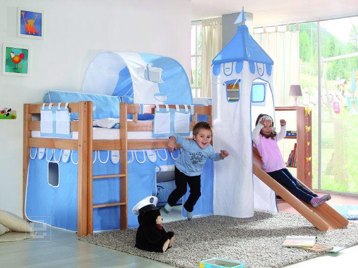 Vorhang Set Etagenbett : Neu vorhang set mit turm baumwolle etagenbett kinderbett