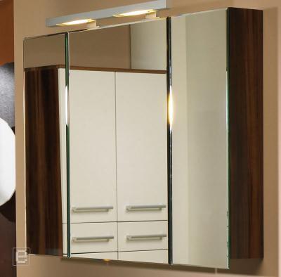 neu badezimmer badm bel spiegelschrank t rd mpfer neonlicht hochglanz zwetschge ebay. Black Bedroom Furniture Sets. Home Design Ideas