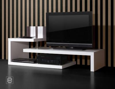 neu modernes lowboard hochglanz wei hifi rack. Black Bedroom Furniture Sets. Home Design Ideas