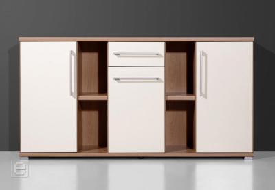 top b rom bel sideboard nussbaum crema b ro kommode anrichte glanzfront ebay. Black Bedroom Furniture Sets. Home Design Ideas