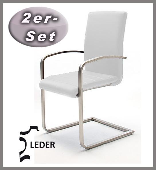 neu 2er set freischwinger armlehnstuhl esszimmerstuhl. Black Bedroom Furniture Sets. Home Design Ideas