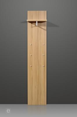 garderobenset wandgarderobe dielenschrank spiegel kommode vigo iii kernbuche neu ebay. Black Bedroom Furniture Sets. Home Design Ideas