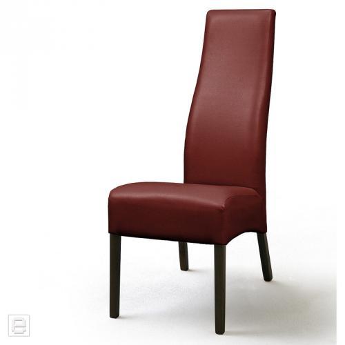 Top 2x lehnstuhl kunstleder in rot esszimmer stuhl for Lehnstuhl esszimmer