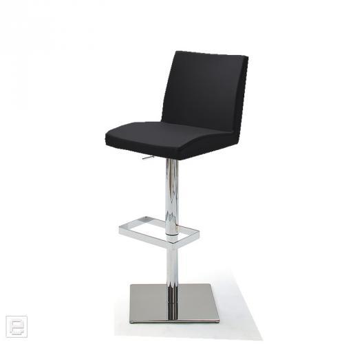 Top design barstuhl barhocker drehstuhl lederoptik for Design barhocker edelstahl