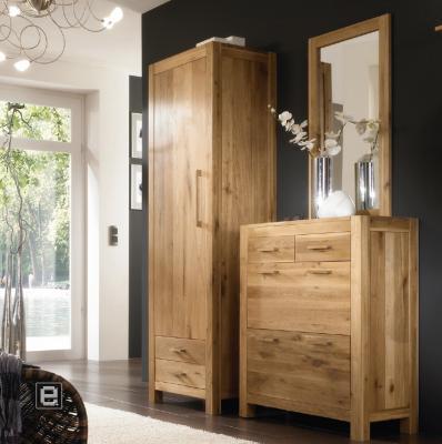 neu 3 tlg garderobe set wildeiche massiv schuhschrank kleiderschrank flurm bel ebay. Black Bedroom Furniture Sets. Home Design Ideas