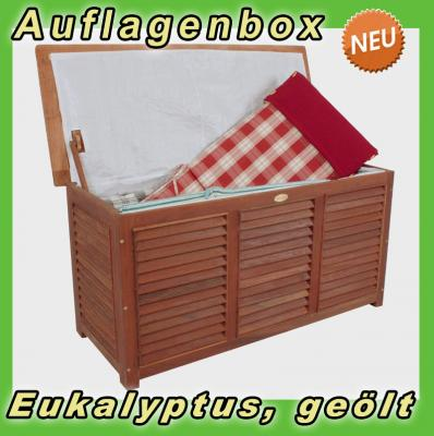neu eukalyptus auflagentruhe auflagenbox gartentruhe folientasche gartenm bel ebay. Black Bedroom Furniture Sets. Home Design Ideas