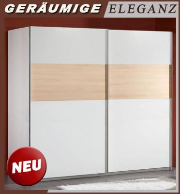 Kleiderschrank schiebetüren buche  Schlafzimmer Schrank Schwebetüren Weiß: Schrank kollektion ...