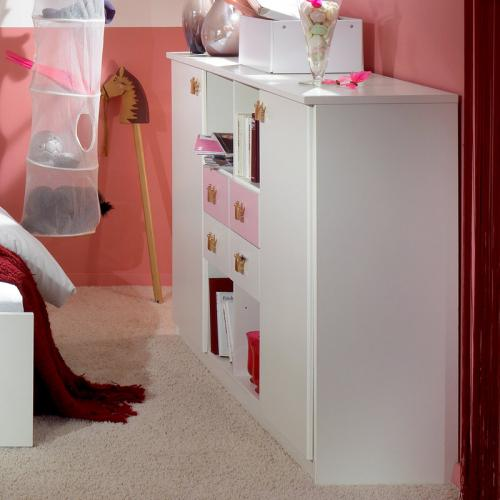 babyzimmer kommode wei ros kinderzimmer sideboard. Black Bedroom Furniture Sets. Home Design Ideas