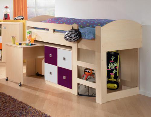 Etagenbett Ahorn : Top hochbett kinderzimmer jugendzimmer jugendbett etagenbett in