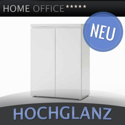 Büroschrank weiß lack  NEU* Aktenschrank MDF Hochglanz weiß Lack Büroschrank ...