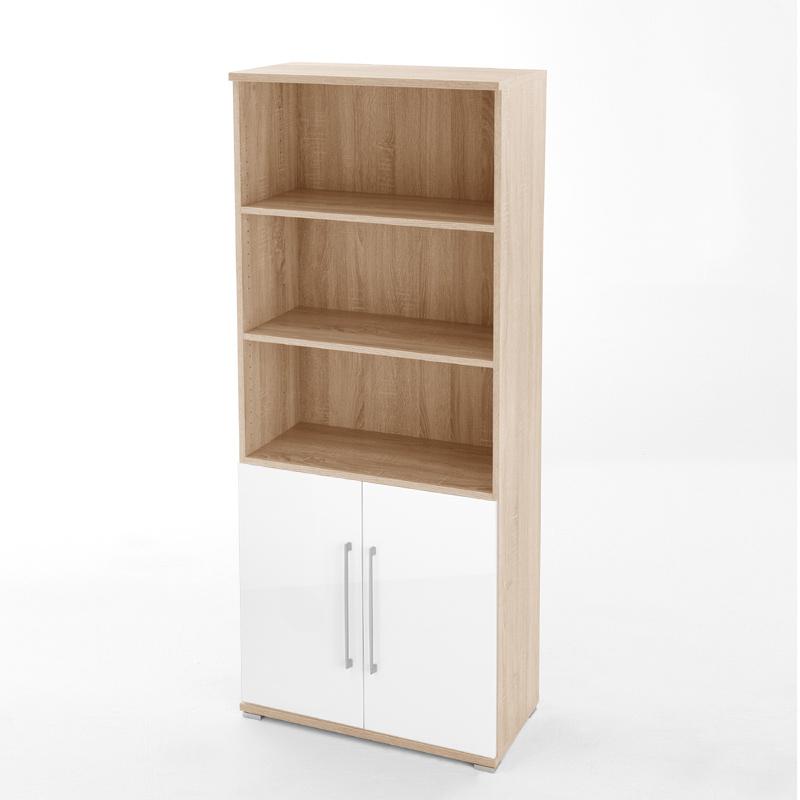 archivschrank sonoma eiche 5oh aktenschrank schrank. Black Bedroom Furniture Sets. Home Design Ideas