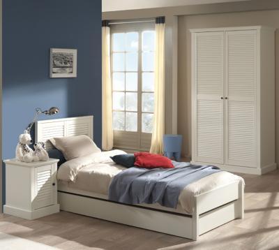 neu* 3tlg landhaus jugendzimmer lack weiß nachttisch, Moderne deko