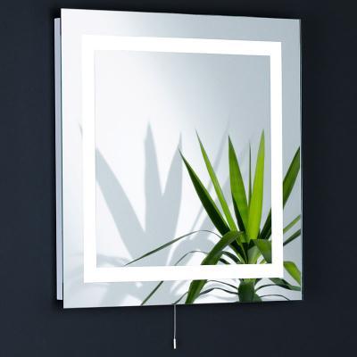neu spiegelleuchte 60x60cm beheizbar wandspiegel. Black Bedroom Furniture Sets. Home Design Ideas