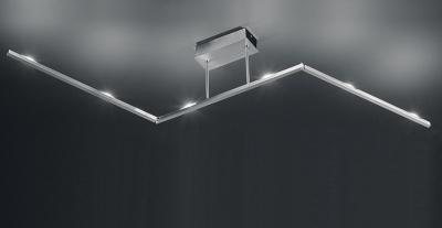 Led Deckenlampen NEU Design LED Deckenleuchte Edelstahl Finish