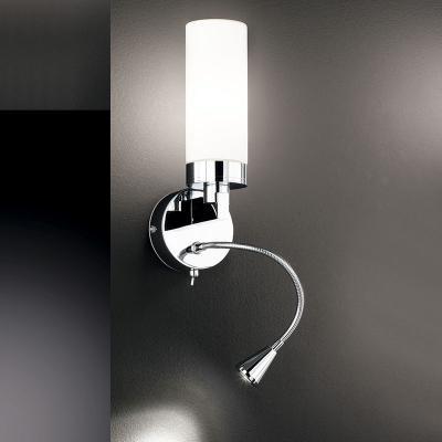 neu moderne led wandleuchte chrom verstellbar wandlampe leselampe leseleuchte ebay. Black Bedroom Furniture Sets. Home Design Ideas