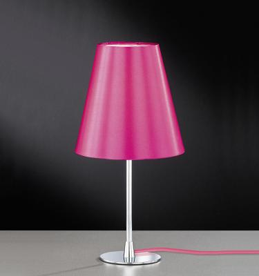 wow tischleuchte in pink chrom tischlampe stehlampe nachttischlampe stehleuchte ebay. Black Bedroom Furniture Sets. Home Design Ideas