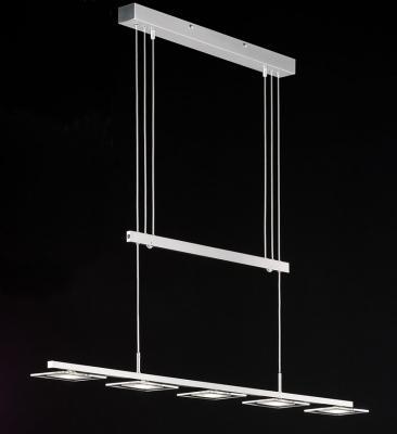 H ngelampe edelstahl glas pendelleuchte modern for Lampen ratingen
