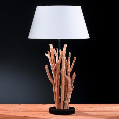 wow* tischleuchte holz natur - weiß tischlampe leselampe stehlampe, Moderne