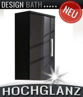 NEU* Badezimmer Hängeschrank Hochglanz anthrazit Badschrank ... | {Badschrank anthrazit 18}