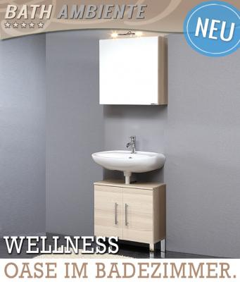 wow 2 tlg bad set badezimmer waschplatz esche badm bel spiegelschrank g ste wc ebay. Black Bedroom Furniture Sets. Home Design Ideas