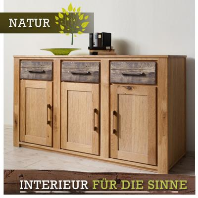 neu exkl sideboard 160cm wildeiche ge lt altholz esszimmer kommode anrichte ebay. Black Bedroom Furniture Sets. Home Design Ideas