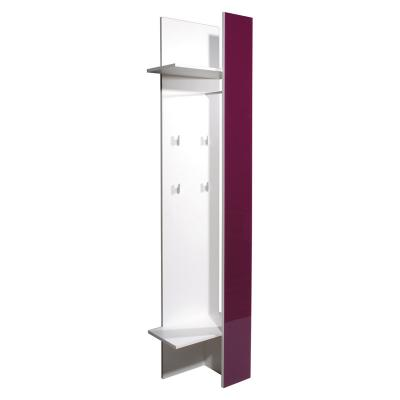 Neu garderobenpaneel glasfront brombeer garderobe for Garderobe mit glasfront