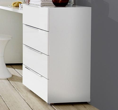 top sideboard in weiss kommode anrichte schubkastenkommode schlafzimmer schrank ebay. Black Bedroom Furniture Sets. Home Design Ideas