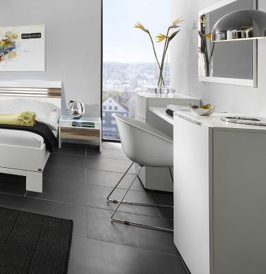 top schminktisch set 4 tlg kosmetiktisch mit spiegel schminkplatz frisiertisch ebay. Black Bedroom Furniture Sets. Home Design Ideas