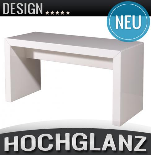 neu sitzbank in hochglanz wei lackiert hocker. Black Bedroom Furniture Sets. Home Design Ideas