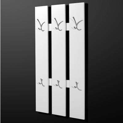 neu garderobenpaneel in wei garderobe wandgarderobe garderobenpaneel paneel ebay. Black Bedroom Furniture Sets. Home Design Ideas