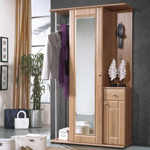 wow landhaus garderobe kernbuche schuhschrank spiegel. Black Bedroom Furniture Sets. Home Design Ideas