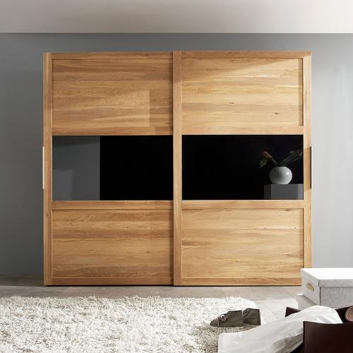 neu 250cm schwebet renschrank wildeiche massiv ge lt. Black Bedroom Furniture Sets. Home Design Ideas