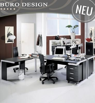 neu 10 tlg komplett b rom bel set schwarz weiss b ro. Black Bedroom Furniture Sets. Home Design Ideas