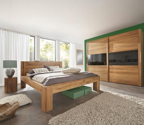 schlafzimmer wildeiche massiv das beste aus wohndesign. Black Bedroom Furniture Sets. Home Design Ideas