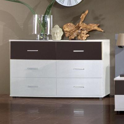 top schlafzimmer kommode wei anthrazit sideboard schubkastenkommode anrichte ebay. Black Bedroom Furniture Sets. Home Design Ideas
