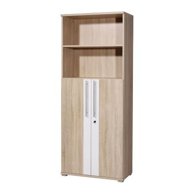top aktenschrank b rom bel eiche sonoma wei abschliessbar b roschrank schrank ebay. Black Bedroom Furniture Sets. Home Design Ideas