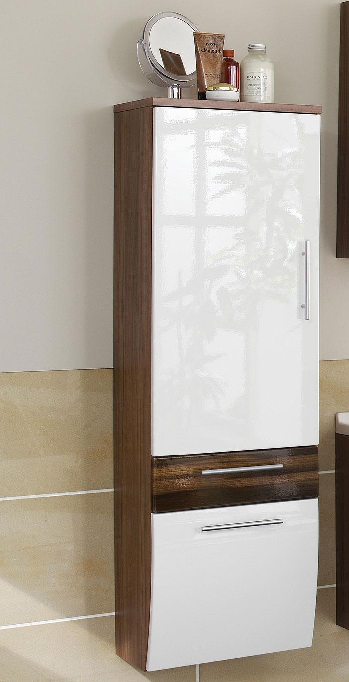 Neu badezimmer badm bel 5tlg bad set in hochglanz wei - Kinderzimmermobel ebay ...