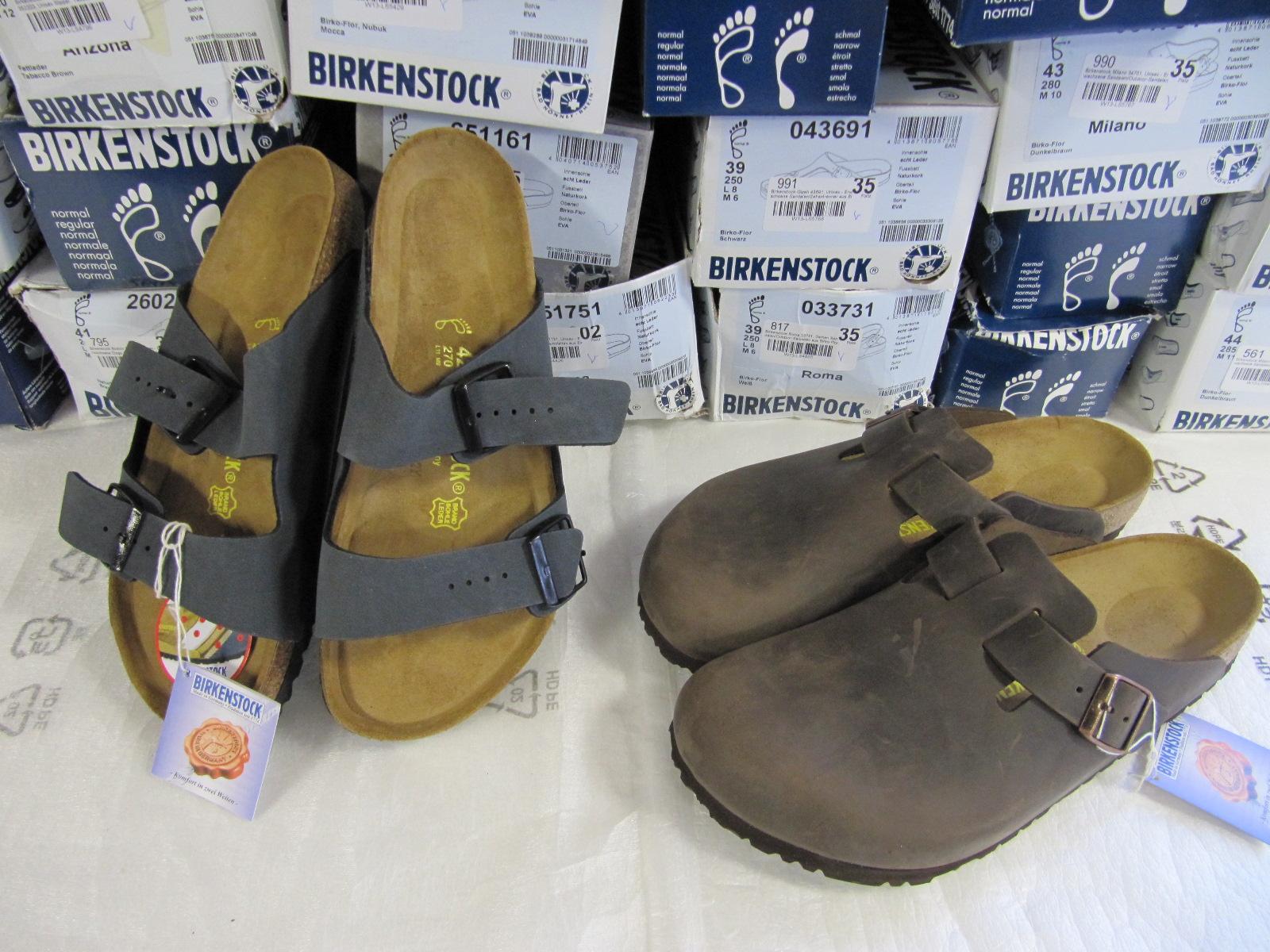 birkenstock restposten 39x hausschuhe sandalen schuhe h ndler rechnung 3072 ebay. Black Bedroom Furniture Sets. Home Design Ideas