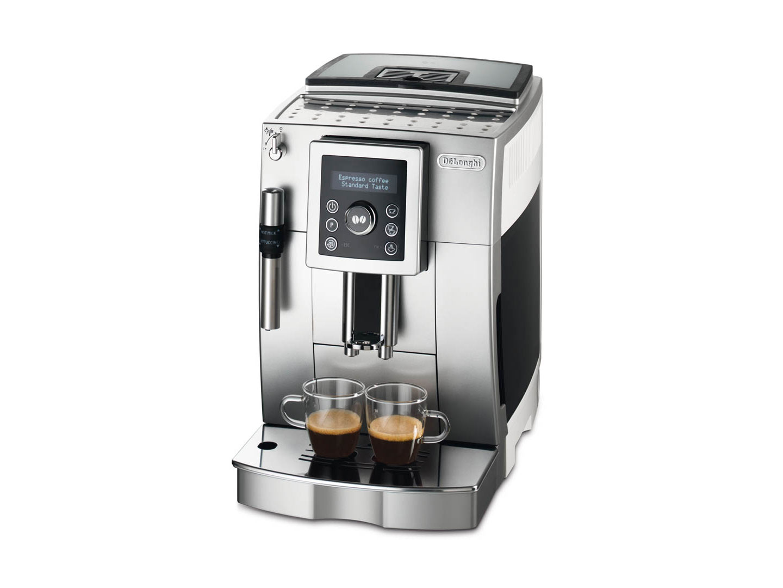 delonghi ecam 23420 sb kaffee vollautomat cappuccino. Black Bedroom Furniture Sets. Home Design Ideas