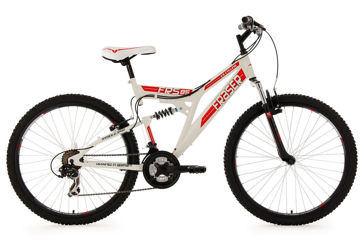 ks cycling fahrrad mountainbike fully fraser 26 511m h ndler rechnung d05971 ebay. Black Bedroom Furniture Sets. Home Design Ideas
