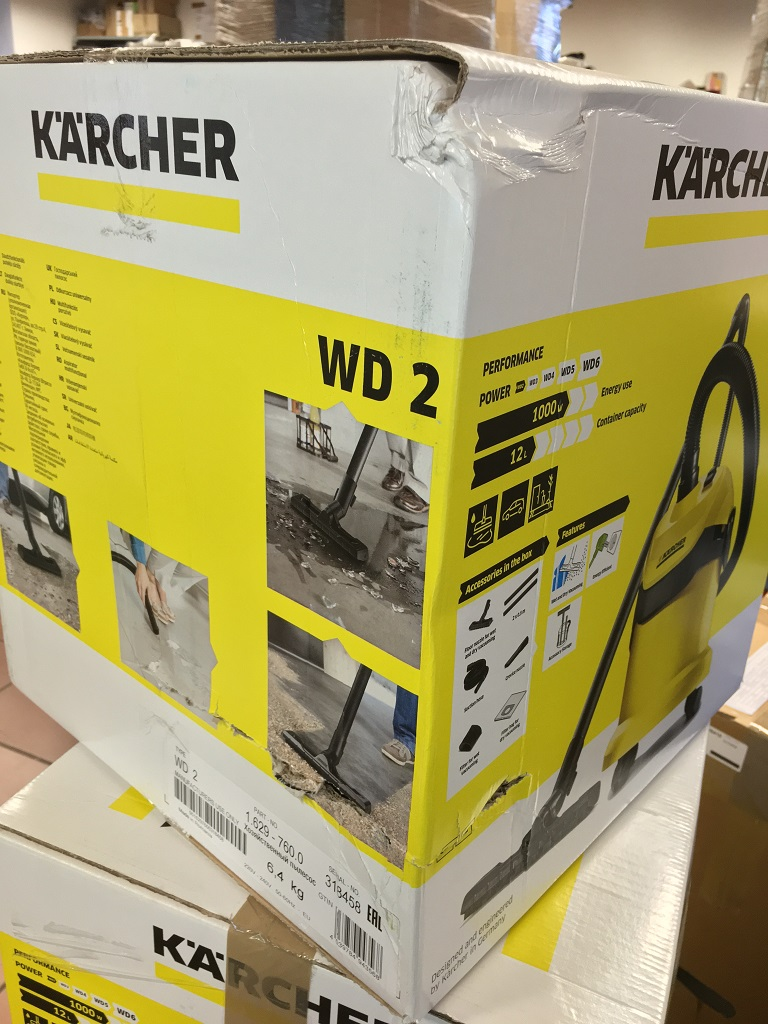 k rcher wd2 mv2 nass trockensauger h ndler rechnung d09415 ebay. Black Bedroom Furniture Sets. Home Design Ideas