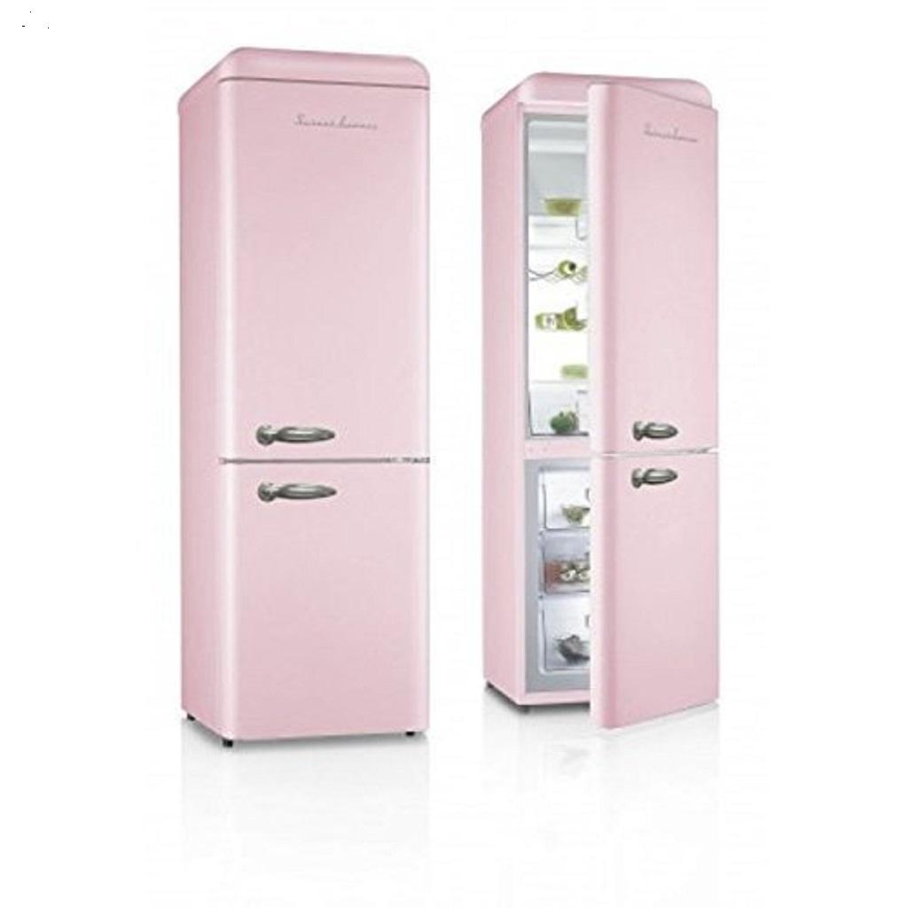 schaub lorenz sl300 spcb k hlgefrierkombination eek a 190 cm rosa glanz ebay. Black Bedroom Furniture Sets. Home Design Ideas