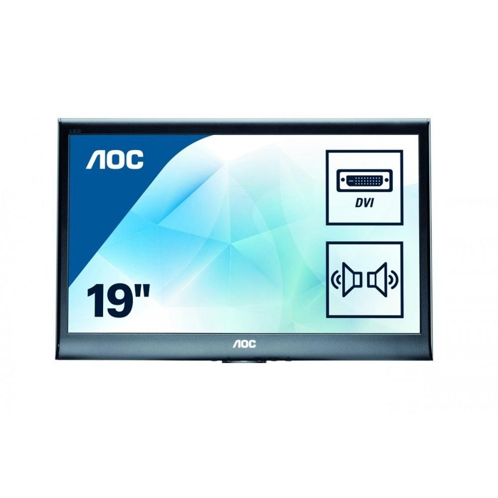 aoc e950swdak 47cm 18 5zoll wled digital hdc monitor h ndler rechnung d16845 4038986191395 ebay. Black Bedroom Furniture Sets. Home Design Ideas