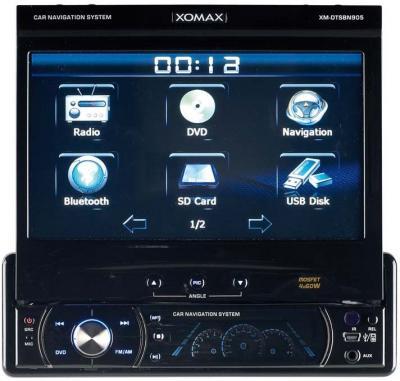 xomax xm dtsbn905 dvd navigation autoradio display h ndler rechnung eur 249 95 picclick be. Black Bedroom Furniture Sets. Home Design Ideas