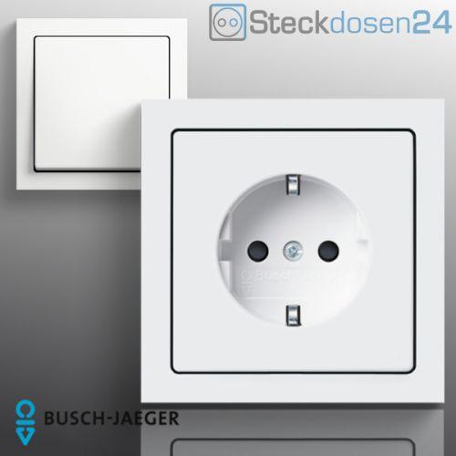 busch jaeger future linear schalter steckdosen studiowei busch j ger ebay. Black Bedroom Furniture Sets. Home Design Ideas