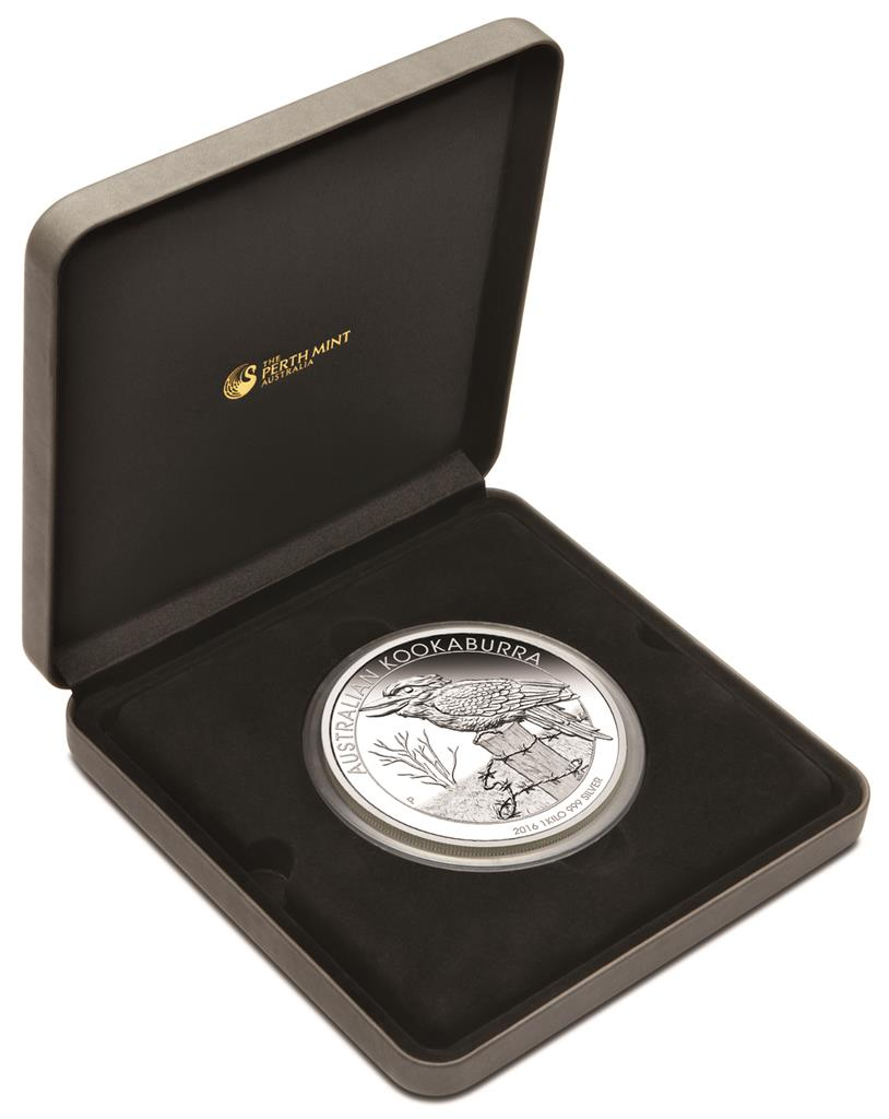 Australien 30 Dollar 2016 Kookaburra 1 Kilo Silber