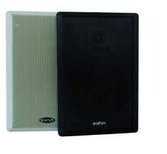 2x dynavox flat panel flache wand lautsprecher boxen schwarz ebay. Black Bedroom Furniture Sets. Home Design Ideas