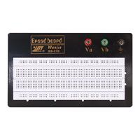 Laborsteckboard-640-200-Kontakte-Platine-Labor-Steckboard-Board-Steckbrett-Brett